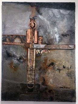 """T-Cells"" on exhibit, by Anne Bradley"
